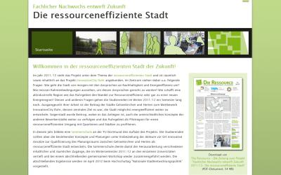 Die ressourcen-effizienteStadt